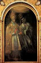 Św. Stanisław - obraz w ołtarzu głównym